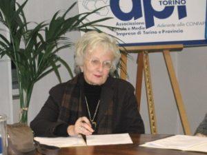 Angiola Audino, il ricordo di APID e  AIDDA