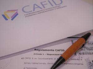 Nuovo regolamento CAFID